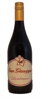 San Giuseppe Lambrusco 750ml - Case of 12